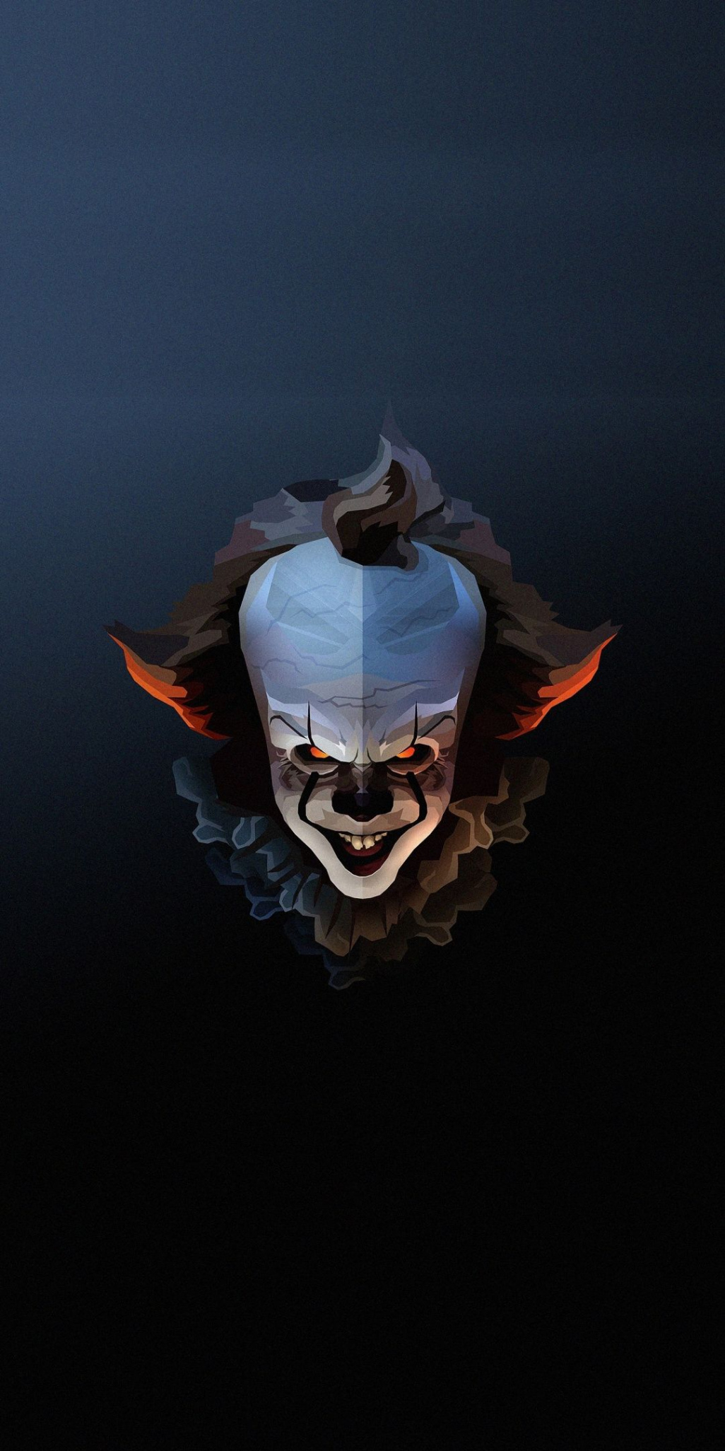 Free Download Pennywise The Clown Halloween Artwork 1080x2160