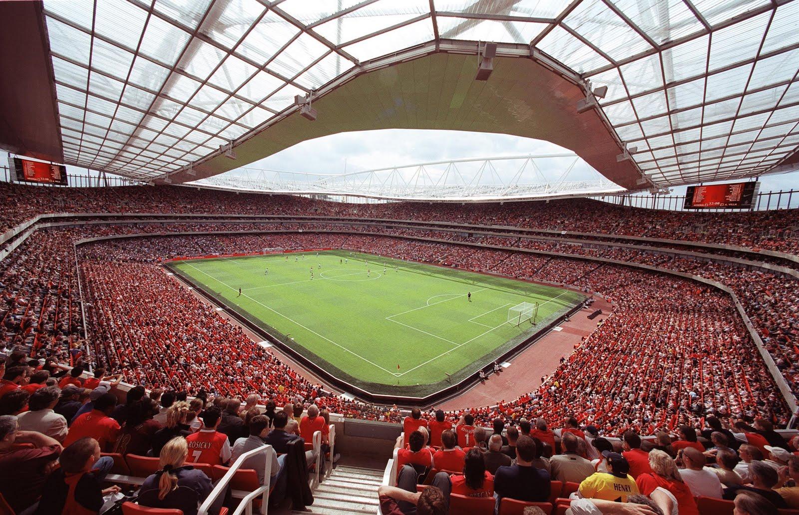 Wallpaper Pick Arsenal New Stadium Emirates Stadium Wallpaper 1600x1032