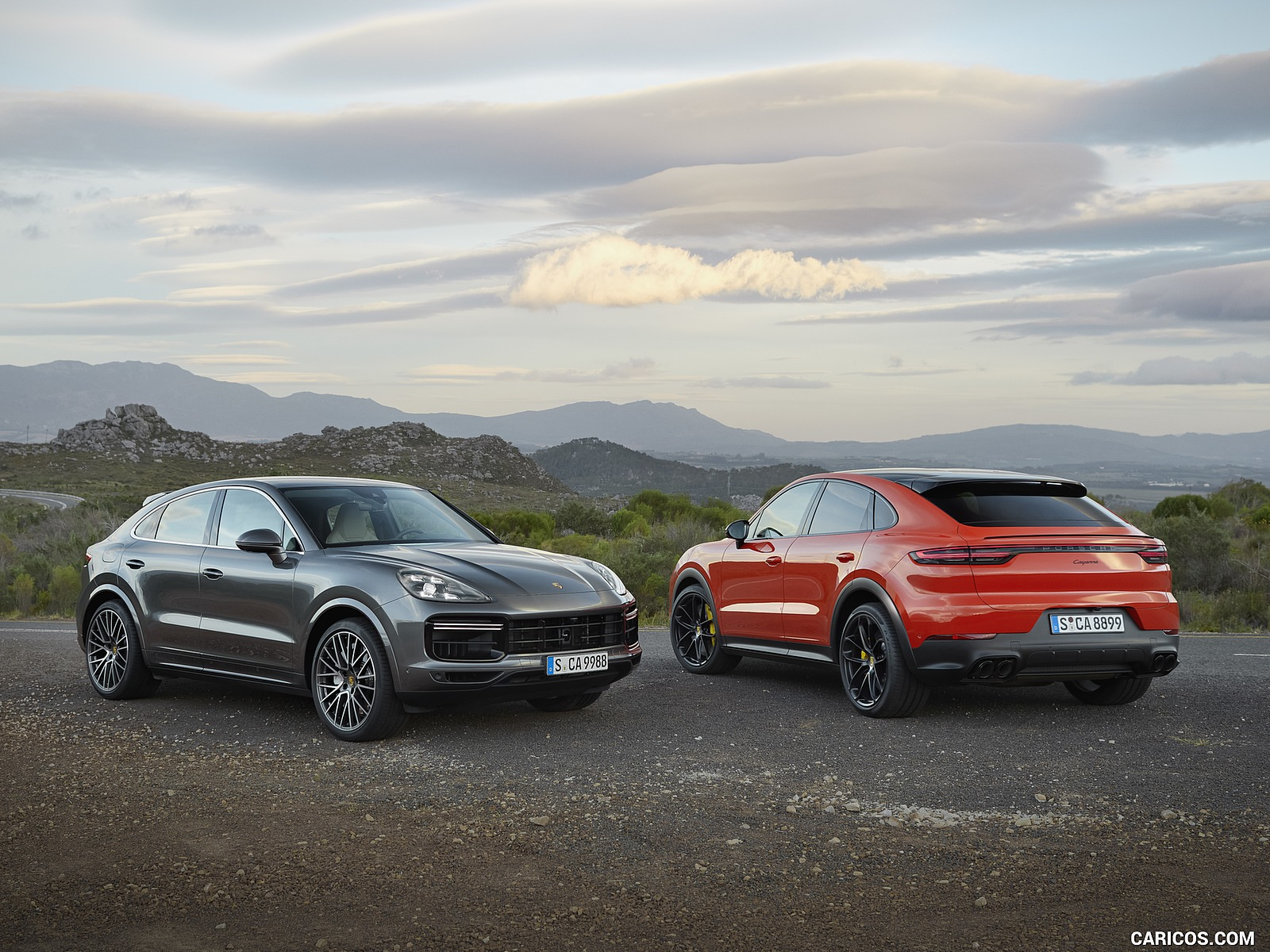 2020 Porsche Cayenne Turbo Coupe and Cayenne Coupe HD Wallpaper 10 1600x1200