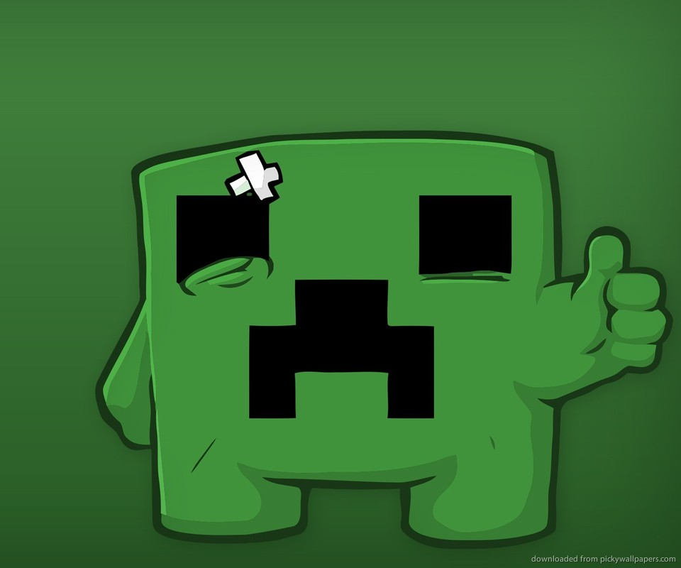 Epic Minecraft Backgrounds Sad minecraft creeper for 960x800