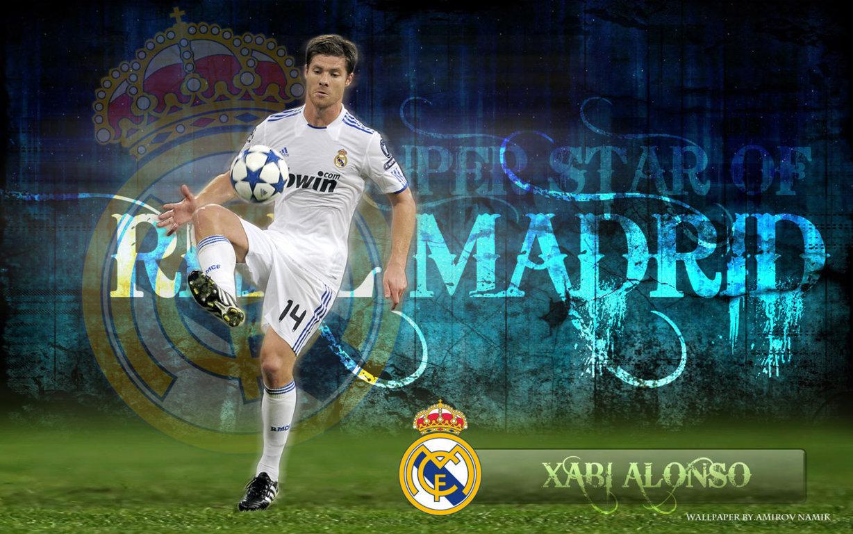 Xabi Alonso Madrid Wallpaper   Football HD Wallpapers 1228x768