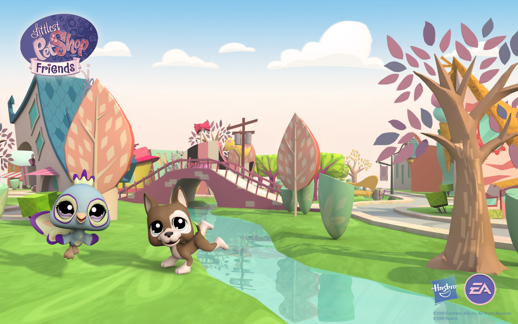 Download Littlest Pet Shop Friends   City Wallpaper Online 1680x1050