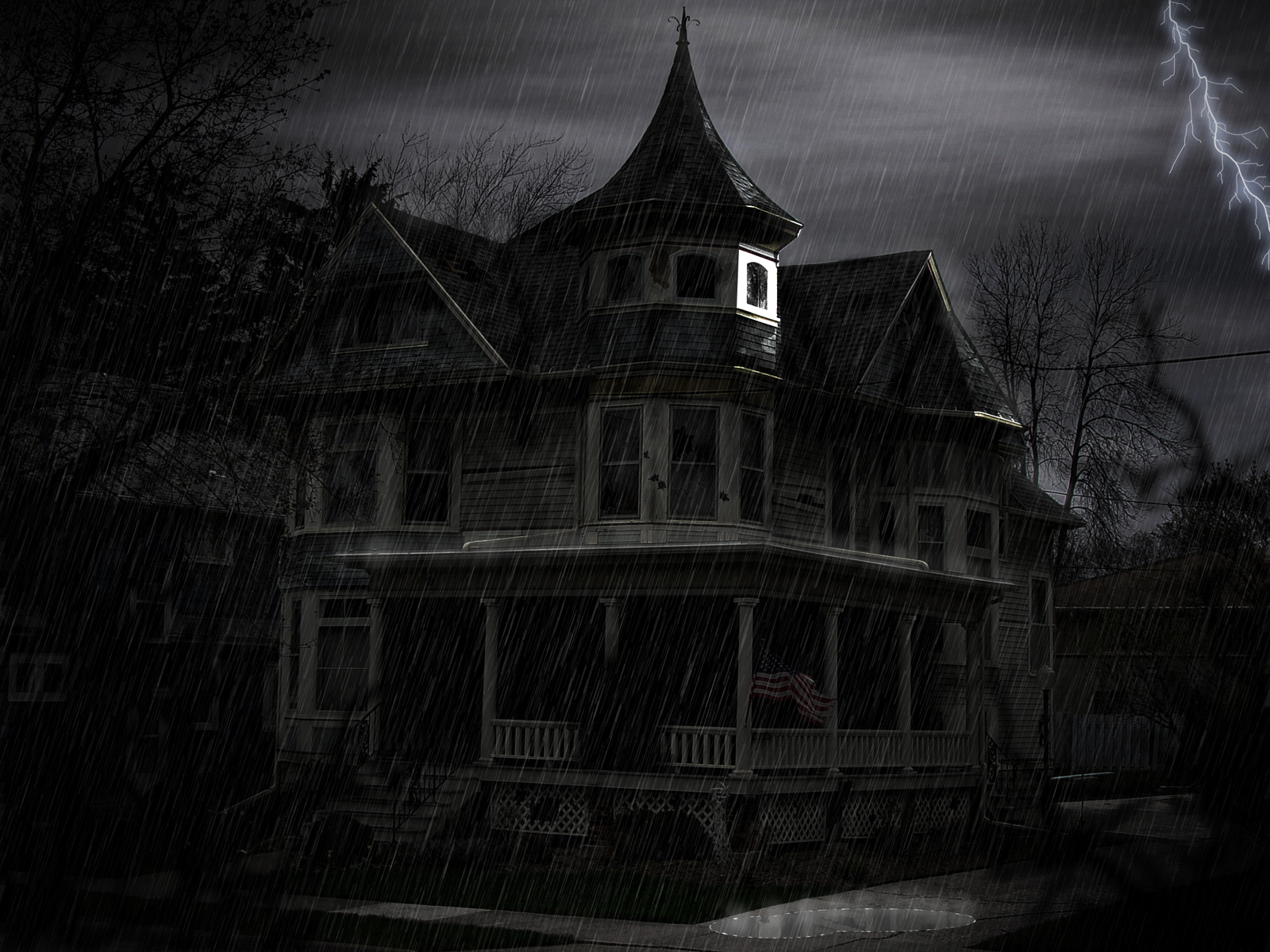 Collector Of Many Things One Which Are Pictures Haunted Houses 1600x1200