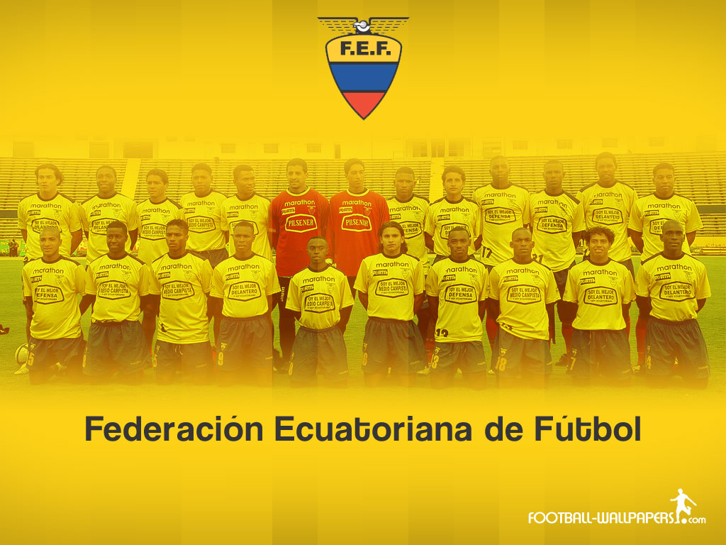 Football Wallpapers Ecuador National Team Wallpapers 1024x768