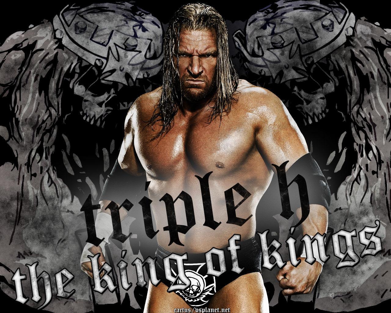 The gallery for   gt Triple H King Of Kings Skull Logo 1280x1024