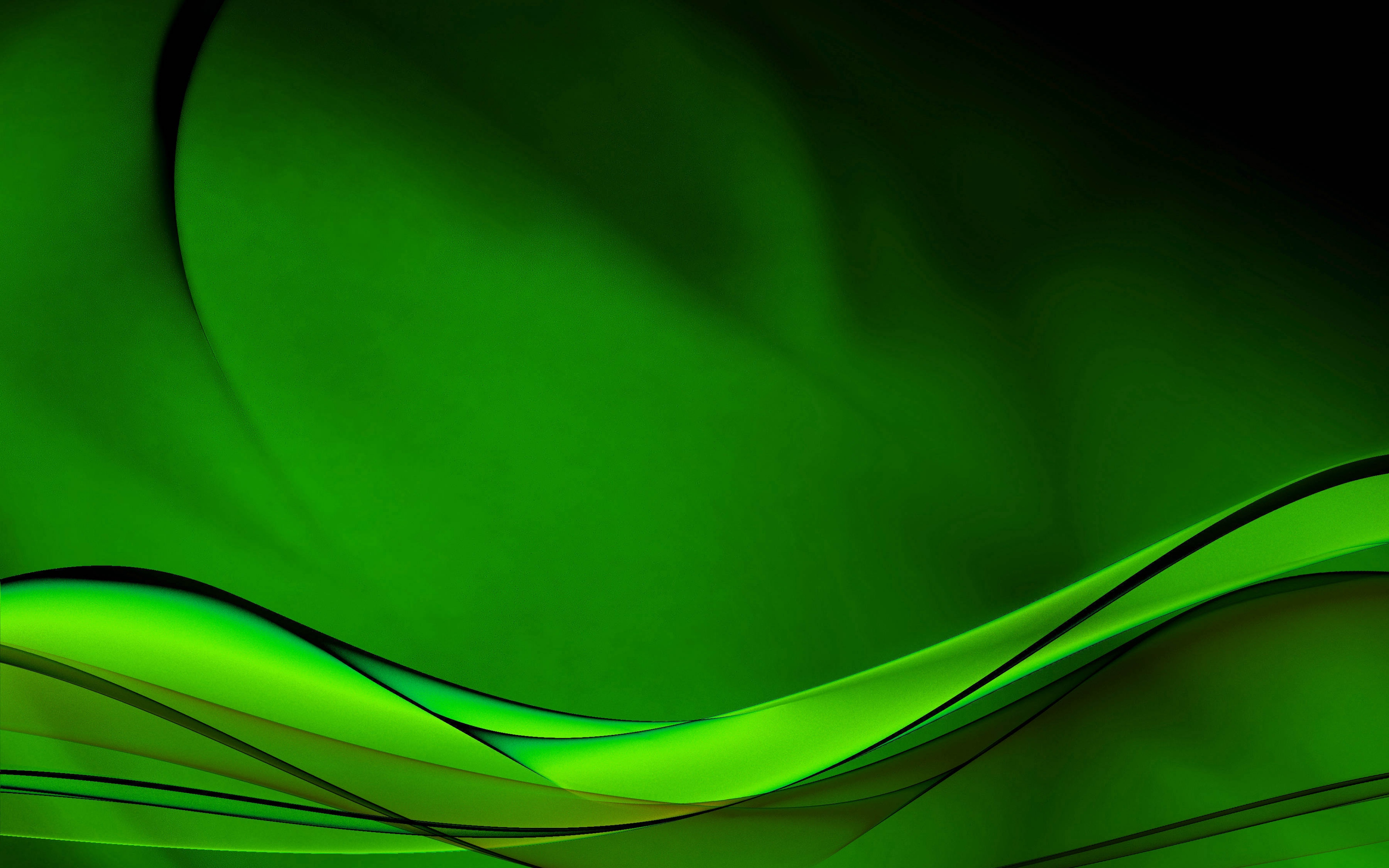 Green Background HD Wallpapers Pulse 3840x2400