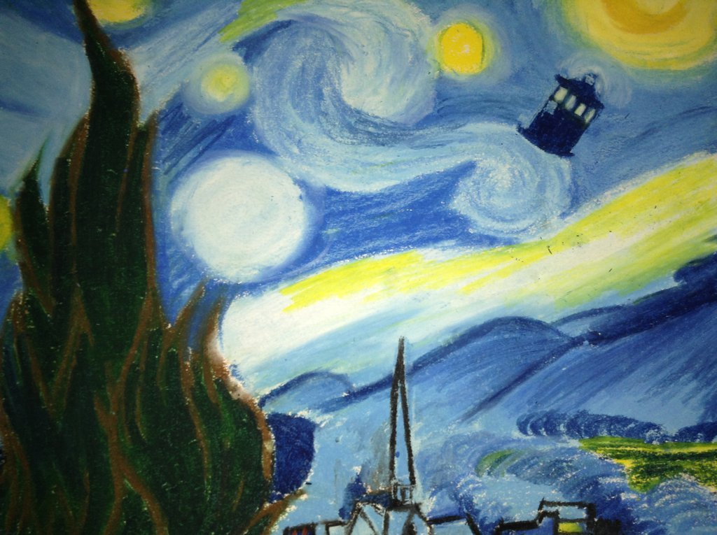 Doctor Who Tardis Wallpaper Van Gogh Images Pictures   Becuo 1024x765