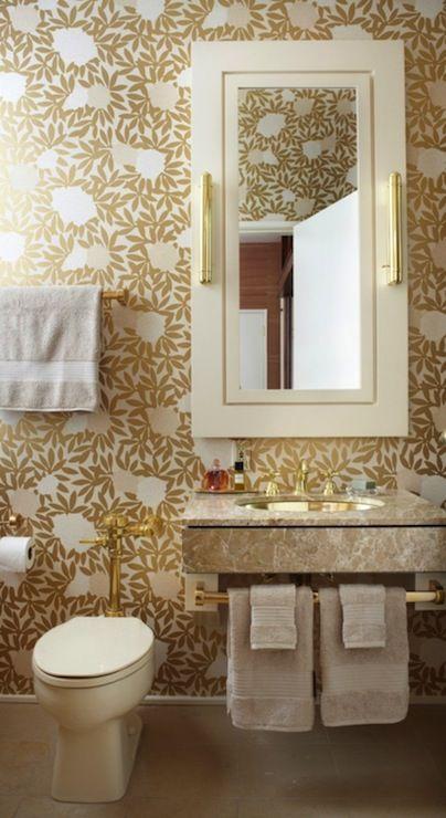 gold metallic wallpaper gold floral wallpaper gold bathroom wal 404x740