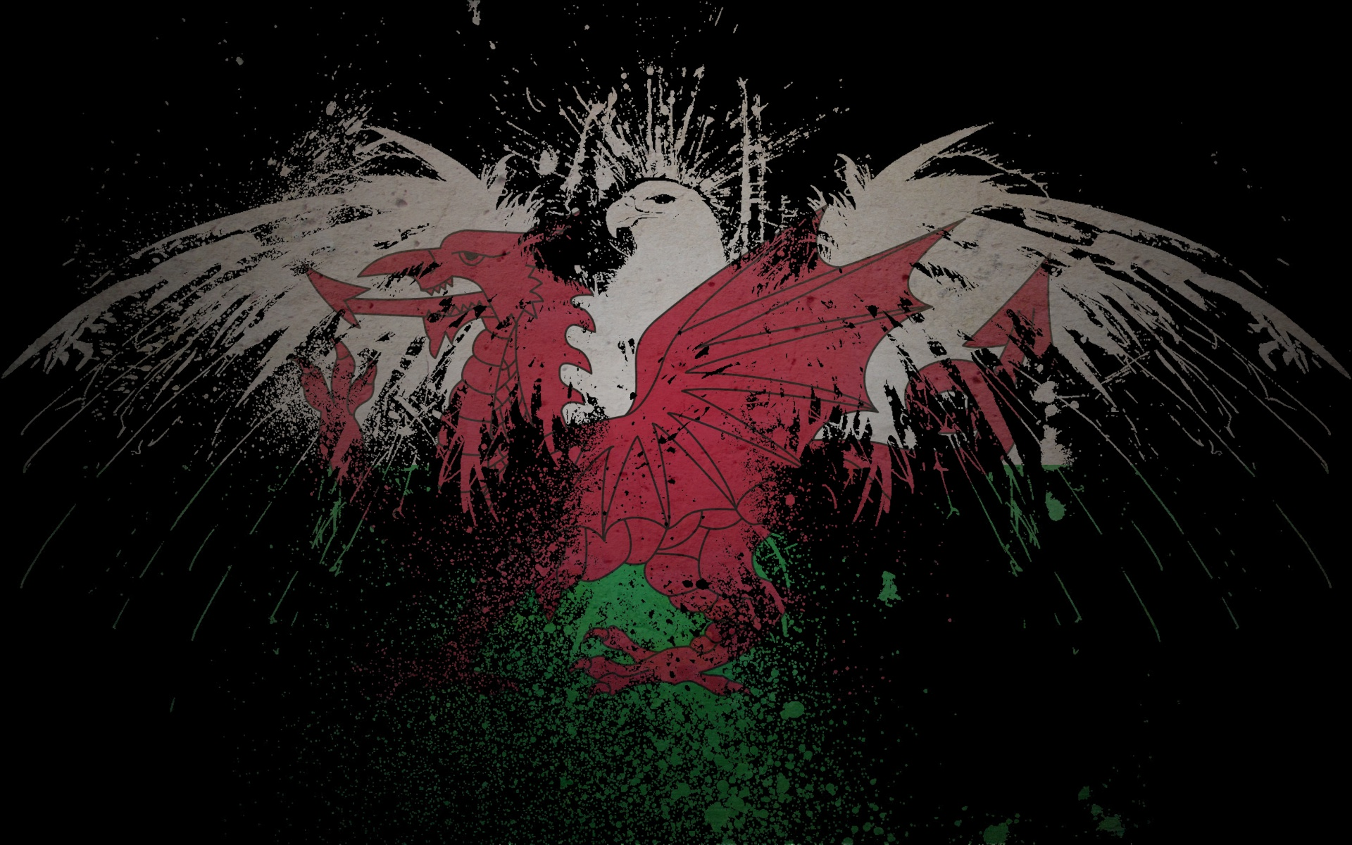 welsh flag wallpaper wallpapers hd for on pinterest welsh flag 1920x1200
