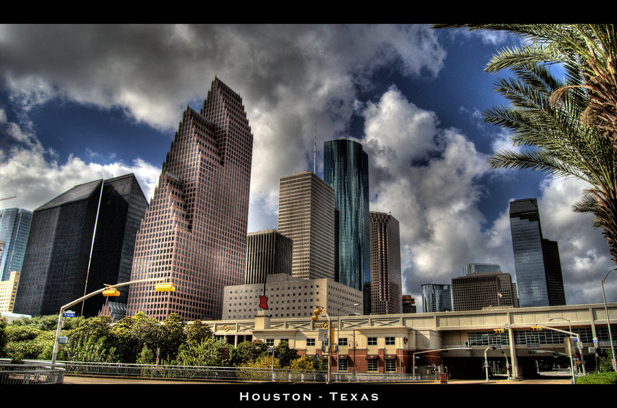 Downtown Houston HDR by nat1874 900x596