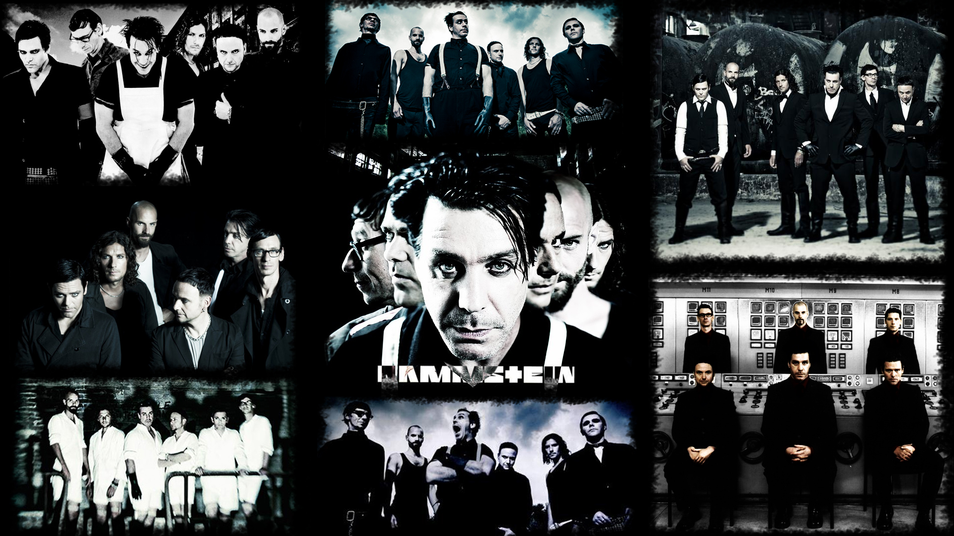 Альбом rammstein wallpapers