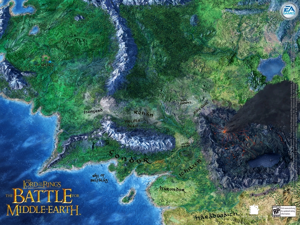 The Battle For Middle Earth images Middle Earth HD 1024x768