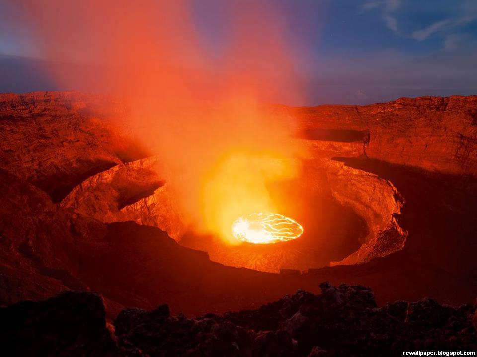Awesome Nyiragongo Crater Democratic Republic of the Congo 960x719