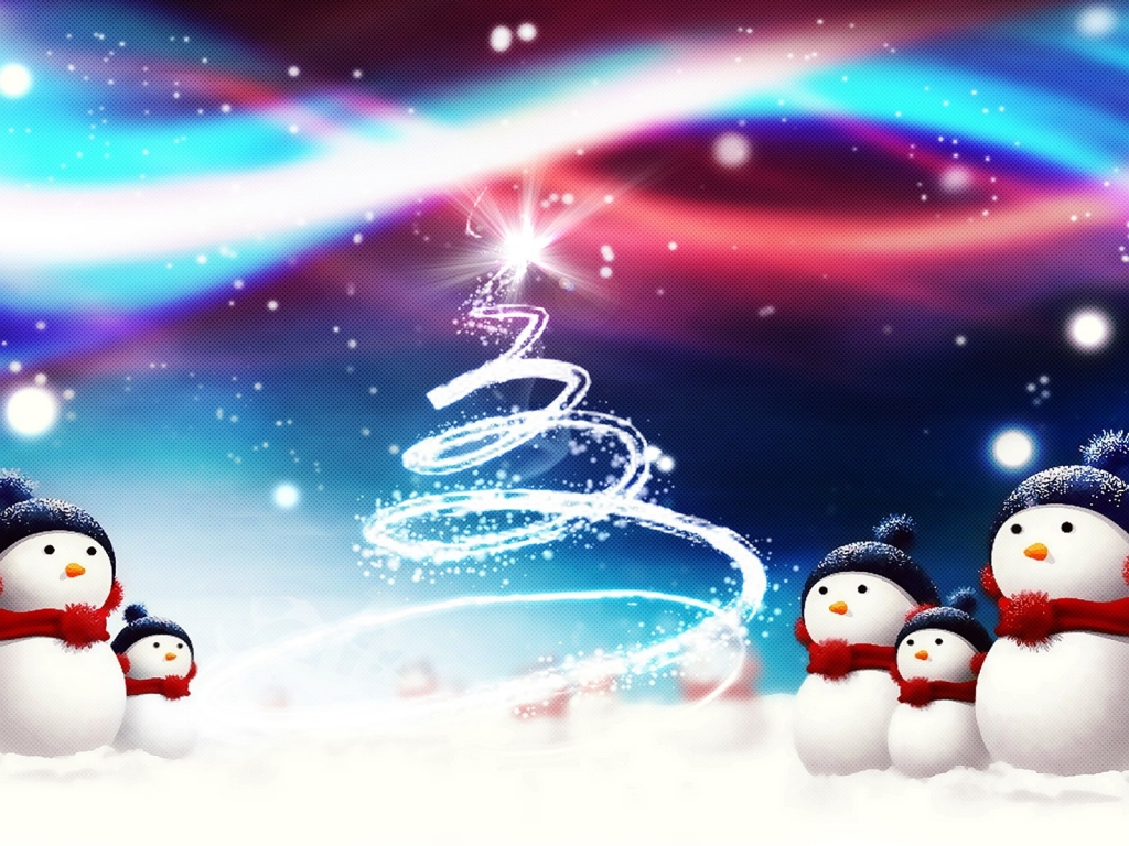 Dynamic Christmas HD Wallpapers Collection 1024x768