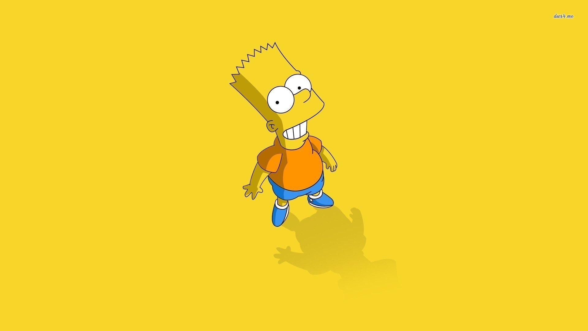 Bart simpson wallpaper wallpapersafari for Simpsons wallpaper for bedroom
