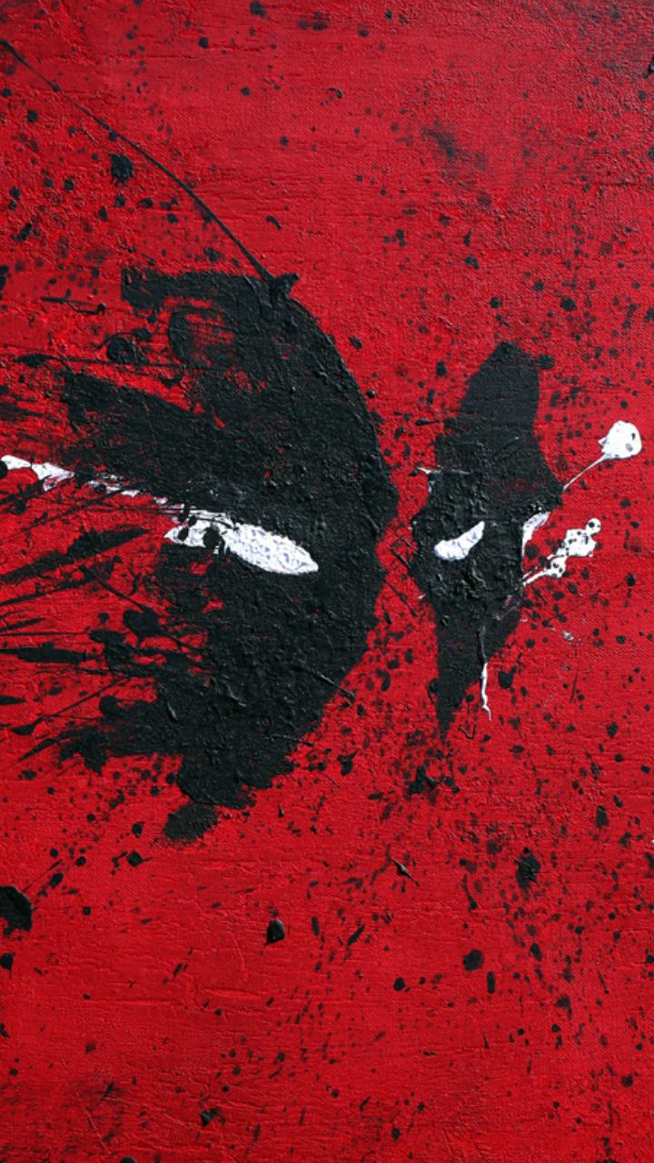 Deadpool Logo Iphone Wallpaper Deadpool logo wallpaper iphone 720x1280