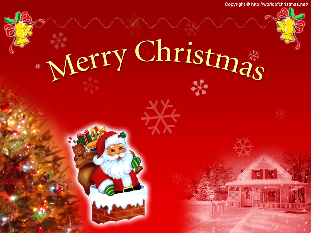 merry christmas wallpapers Desktop Wallpapers 1024x768