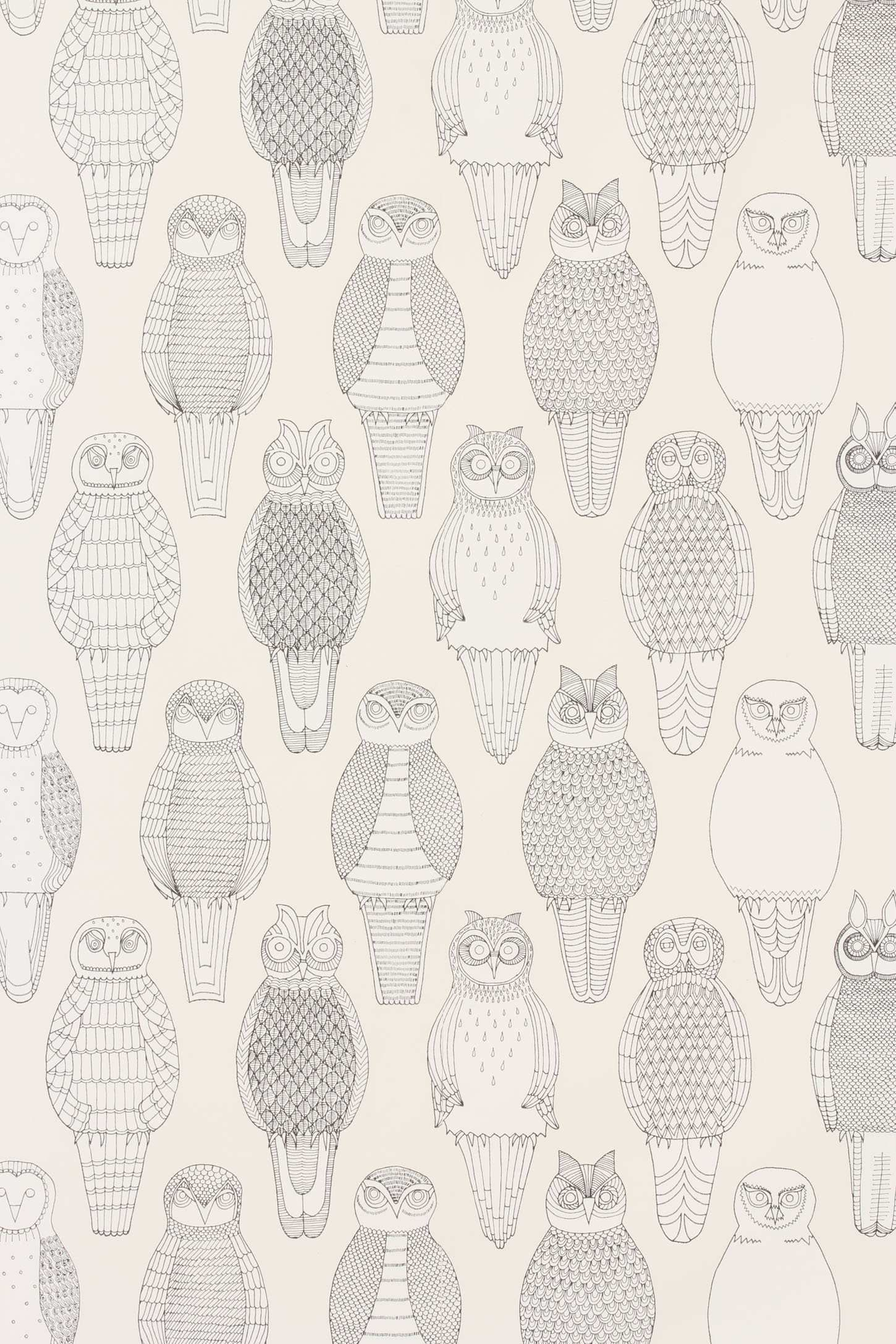 Owls Of The British Isles Wallpaper Anthropologieeu sui 1450x2175