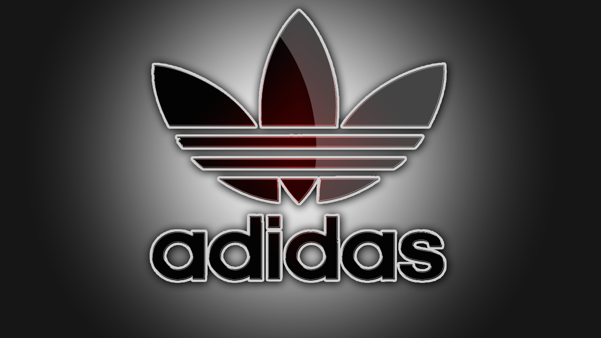 Adidas HD Black Logo Wallpaper Desktop Images Download 1920x1080