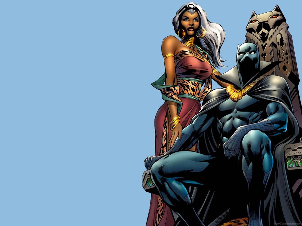 black panther comics marvel HD Wallpaper   Cartoon Animation 1024x768