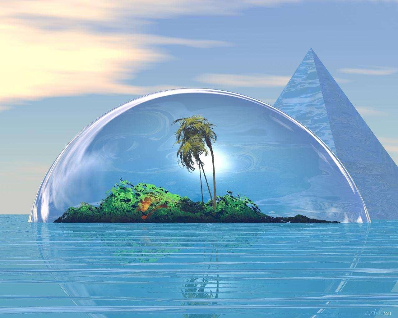 Magic Island HD Wallpapers Backgrounds fantasy island   host2po 1280x1024