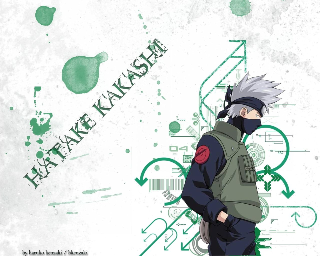 Hatake Kakashi Naruto Wallpaper Hello Kitty Wallpapers 1280x1024