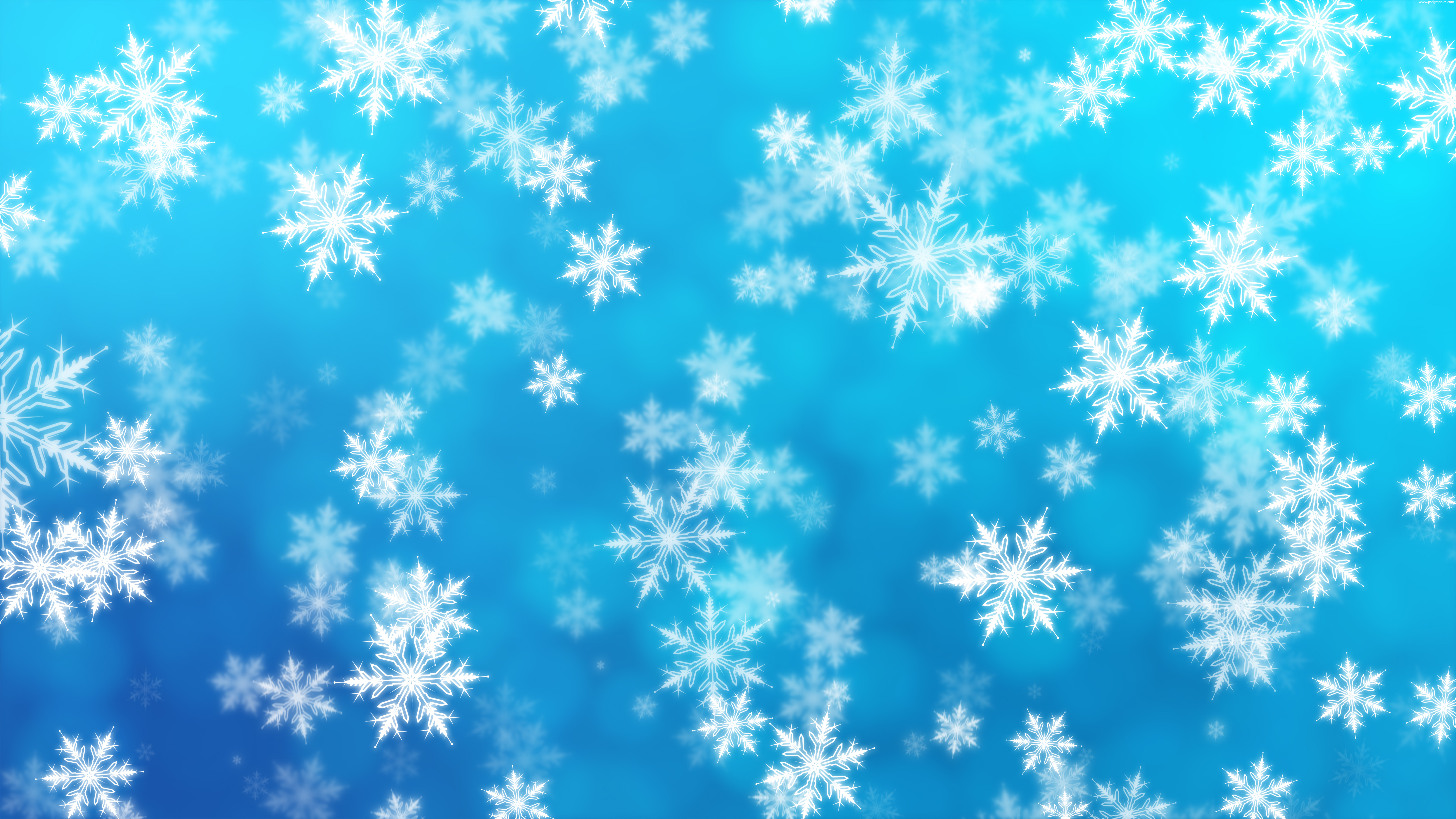 Winter background with animation PSDGraphics 6667x3750