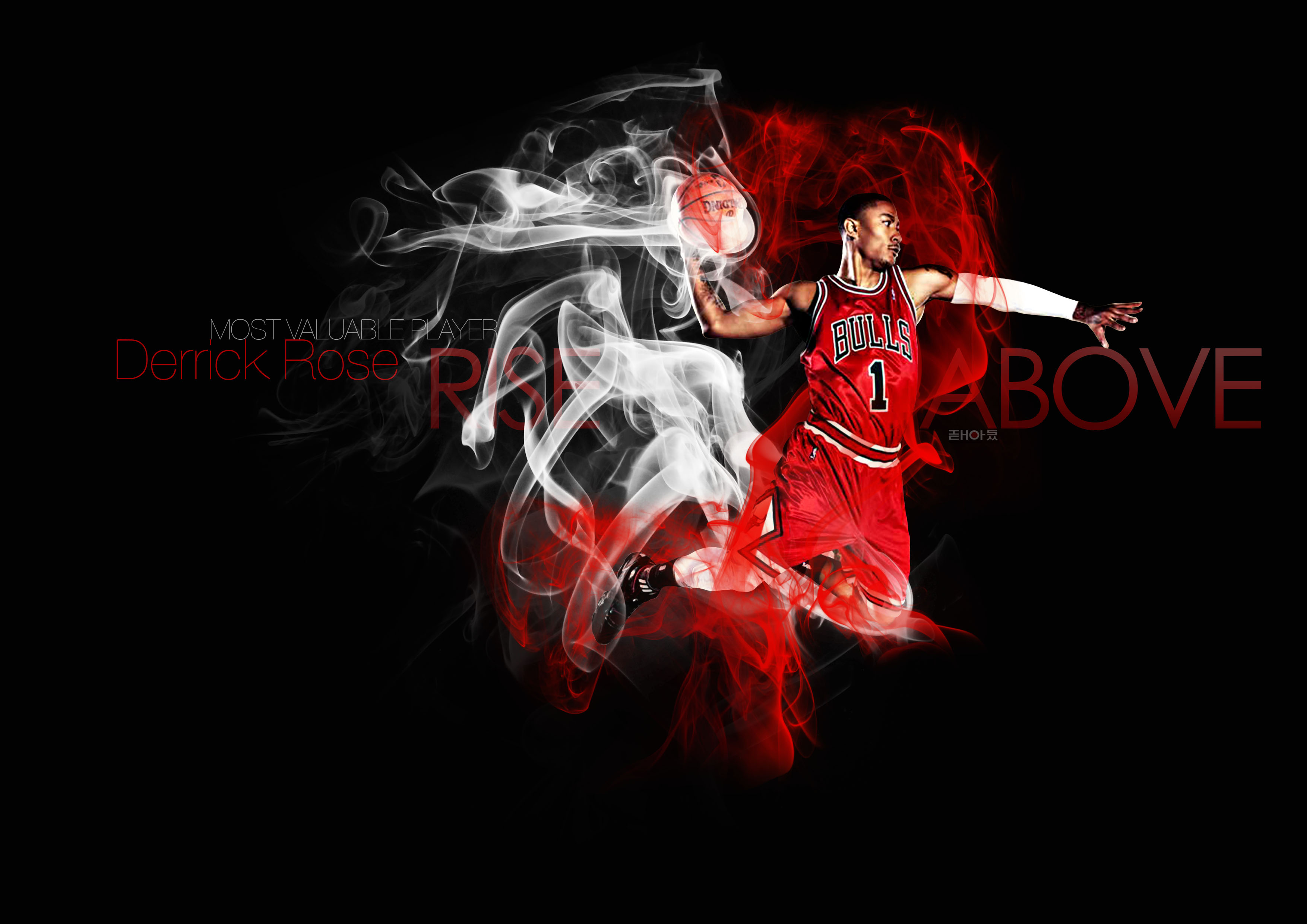 Derick Rose Wallpaper 3508x2480