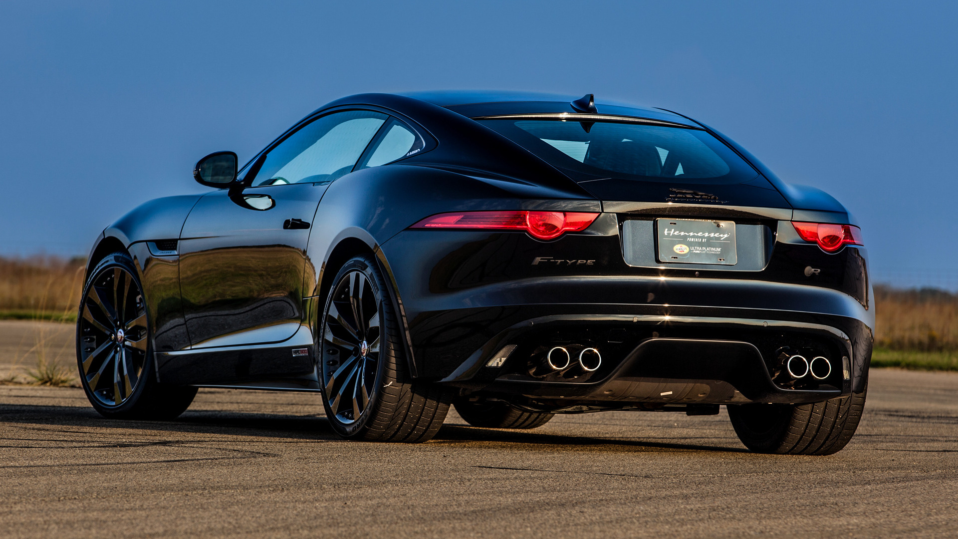 Free Download 2015 Jaguar F Type R Coupe Hpe600 By Hennessey