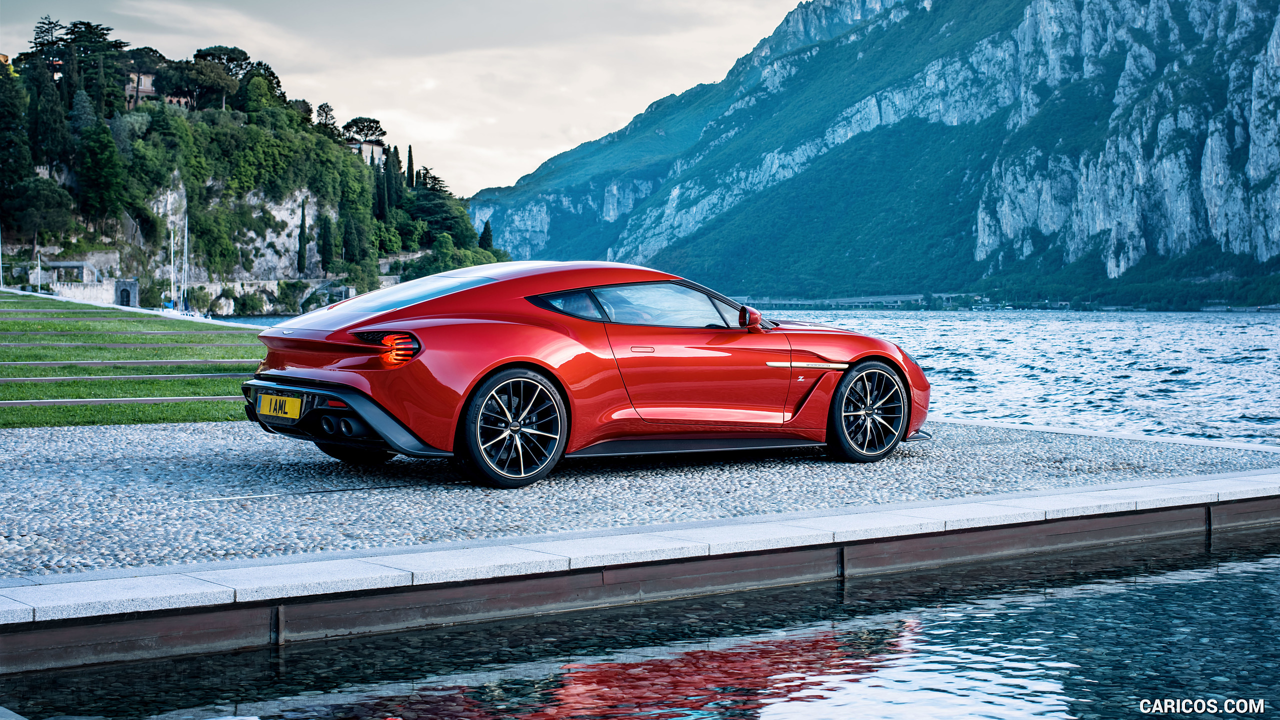 2016 Aston Martin Vanquish Zagato Concept   Side HD Wallpaper 19 2560x1440