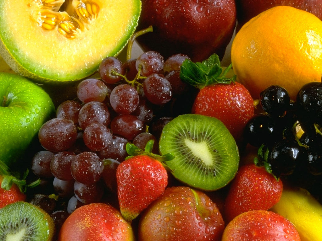 Beautiful Fruits Theme Desktop Wallpaper Web Cool Tips 1024x768