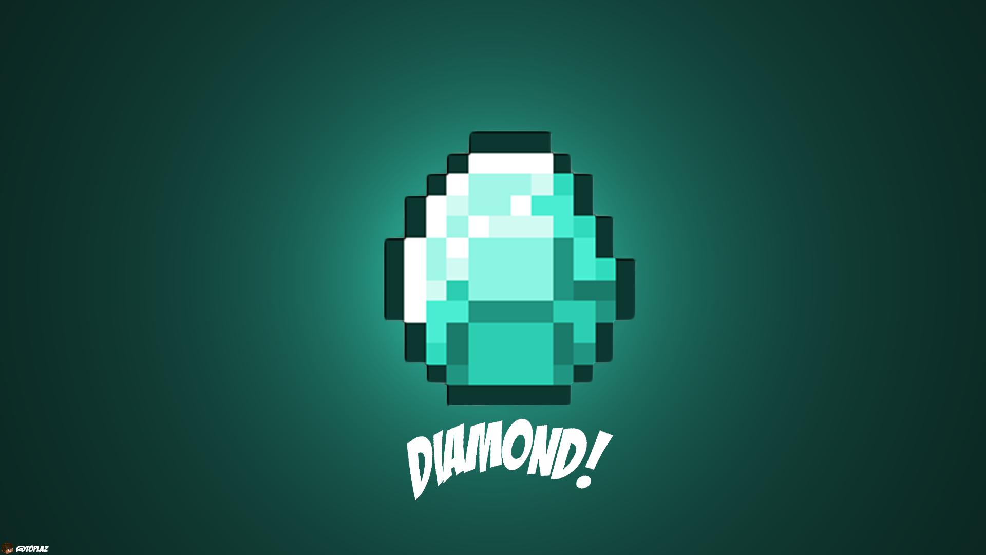 minecraft diamond wallpaper hd   Large Images 1920x1080