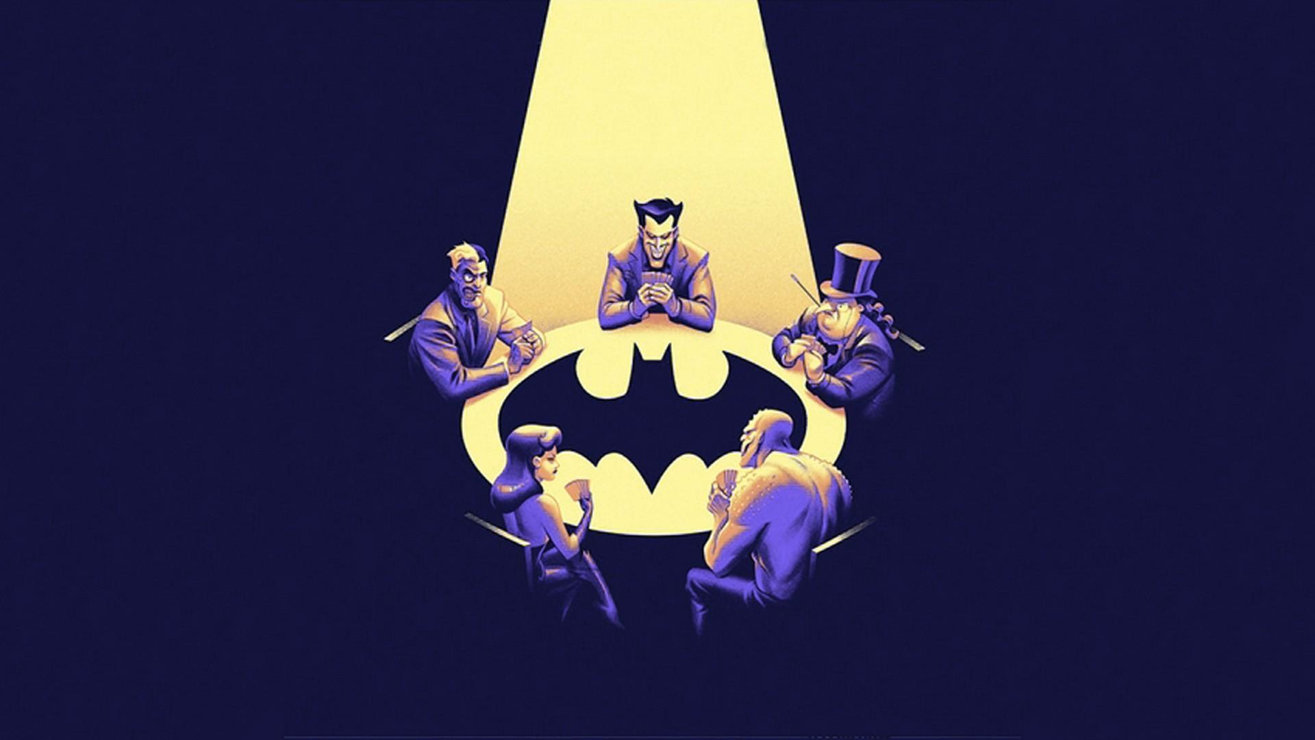 Batman Batman The Animated Series Joker Two Face 1920x1080