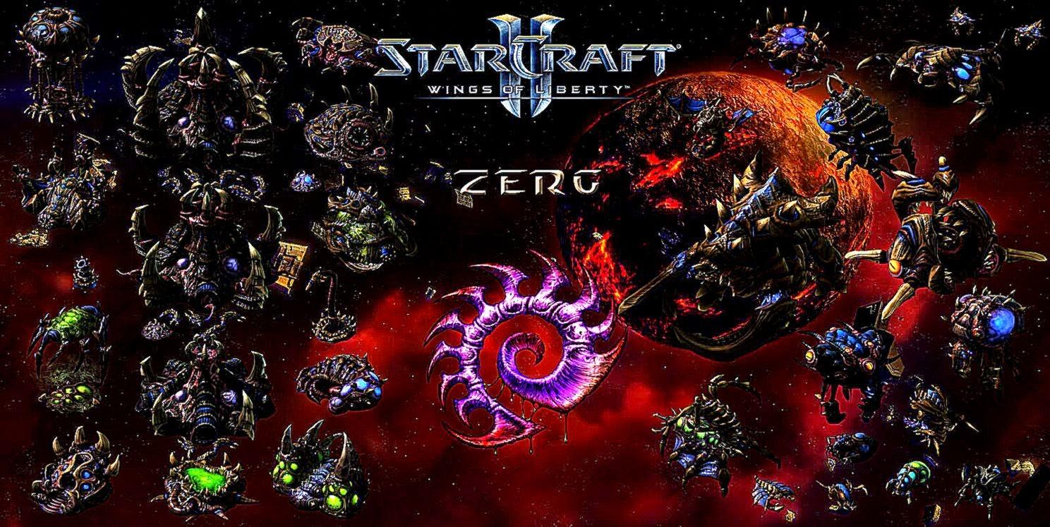 3D Zerg Starcraft Ii Video Games Wallpaper Wallpapers Gallery 1488x747