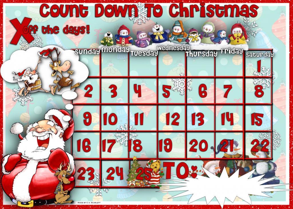 Christmas Calendar Wallpaper : Live christmas countdown desktop wallpaper wallpapersafari
