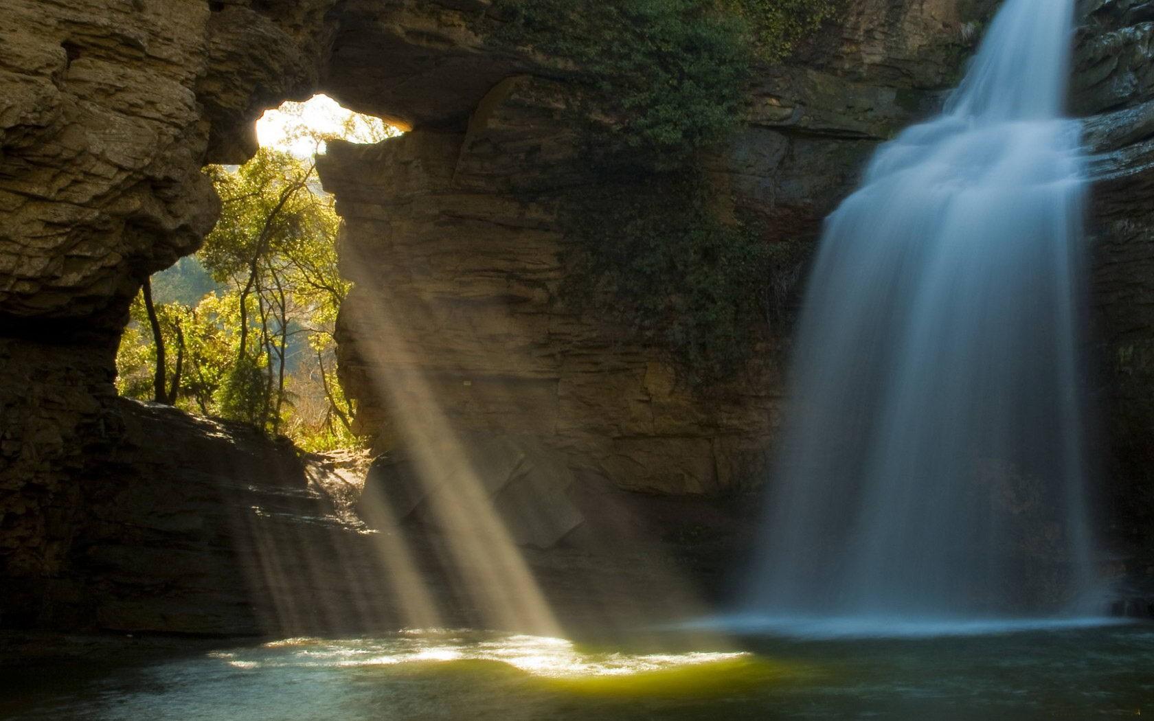 Nature Cave Wallpaper 1680x1050 Nature Cave Rocks Sunlight 1680x1050