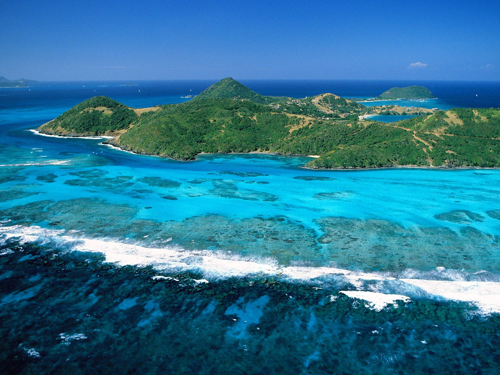 Caribbean Island Wallpapers For Desktop 1600x1200