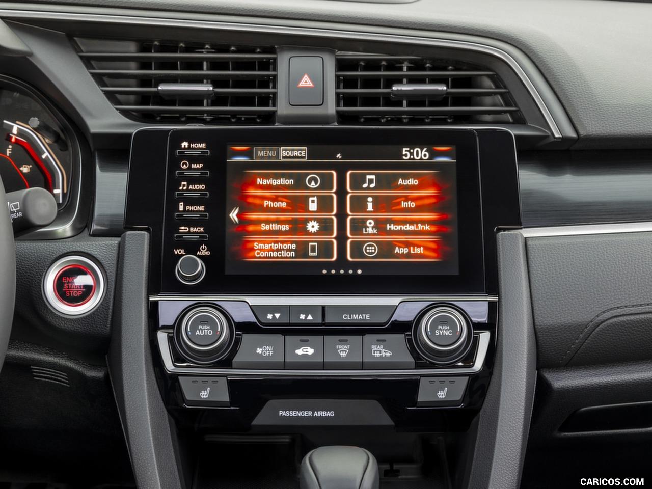 2020 Honda Civic Hatchback   Central Console HD Wallpaper 9 1280x960
