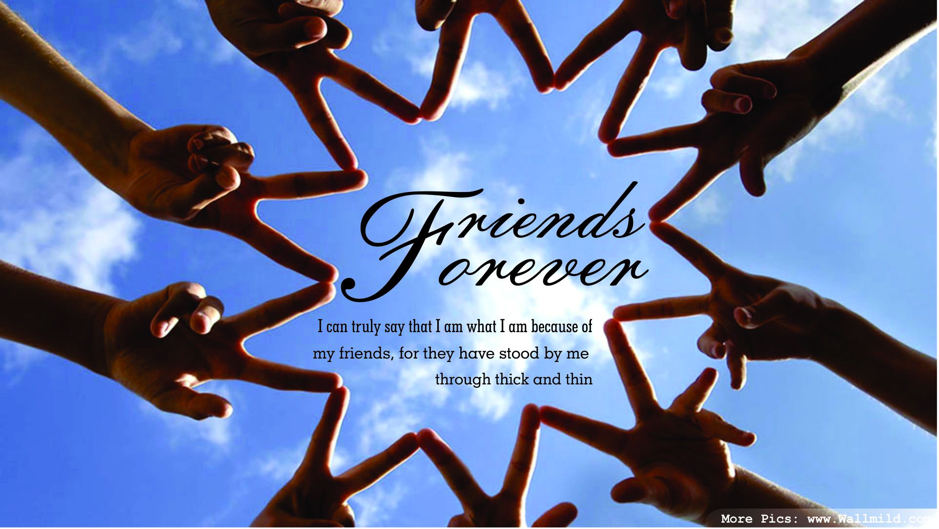 Friends Forever Quotes Wallpaper Nice HD 19311 10033 Wallpaper Cool 1924x1083