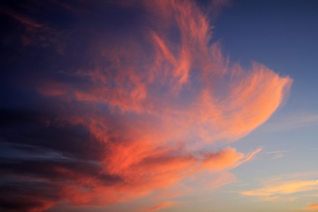 Sunset sky and cloud detail MSC2 wallpaper by LemnosExplorer on 1095x730
