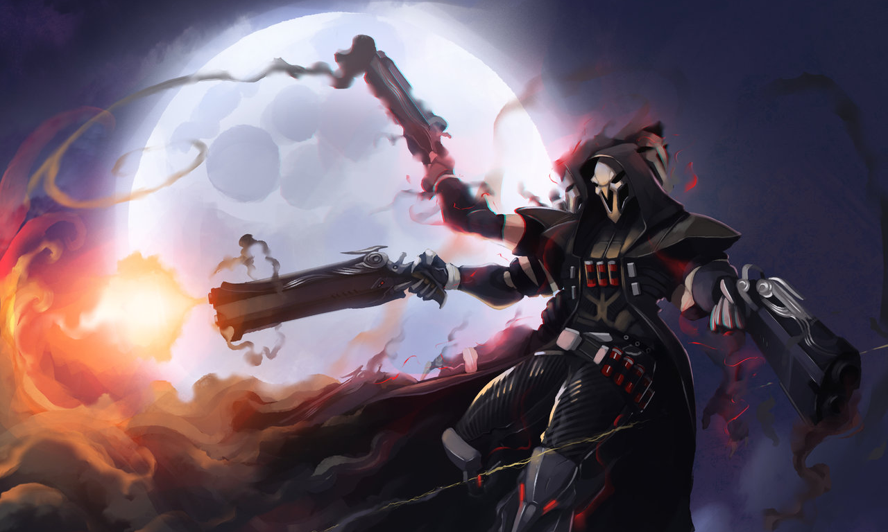 Overwatch reaper wallpaper wallpapersafari - Overwatch christmas wallpaper ...
