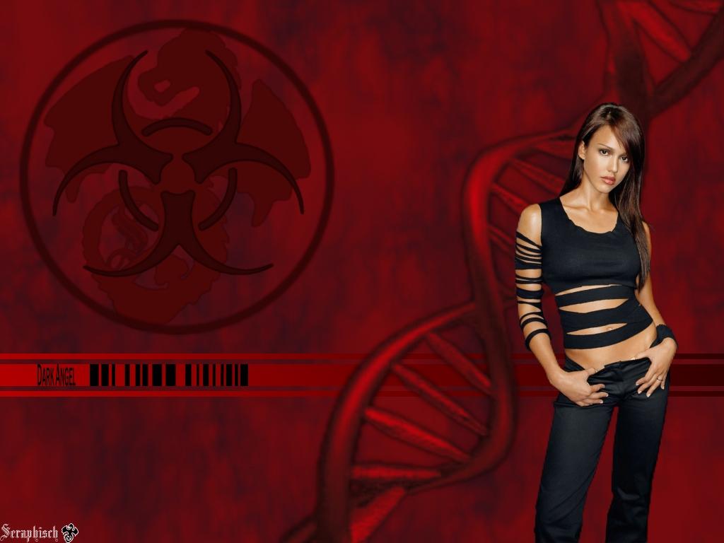 Dark Angel   Jessica Alba Wallpaper 583418 1024x768