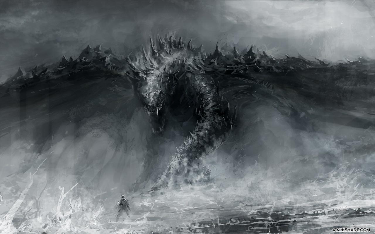 Dragon Art desktop wallpaper 1280800 1280x800