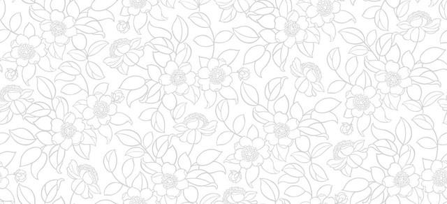 39 Gray Floral Wallpaper On Wallpapersafari