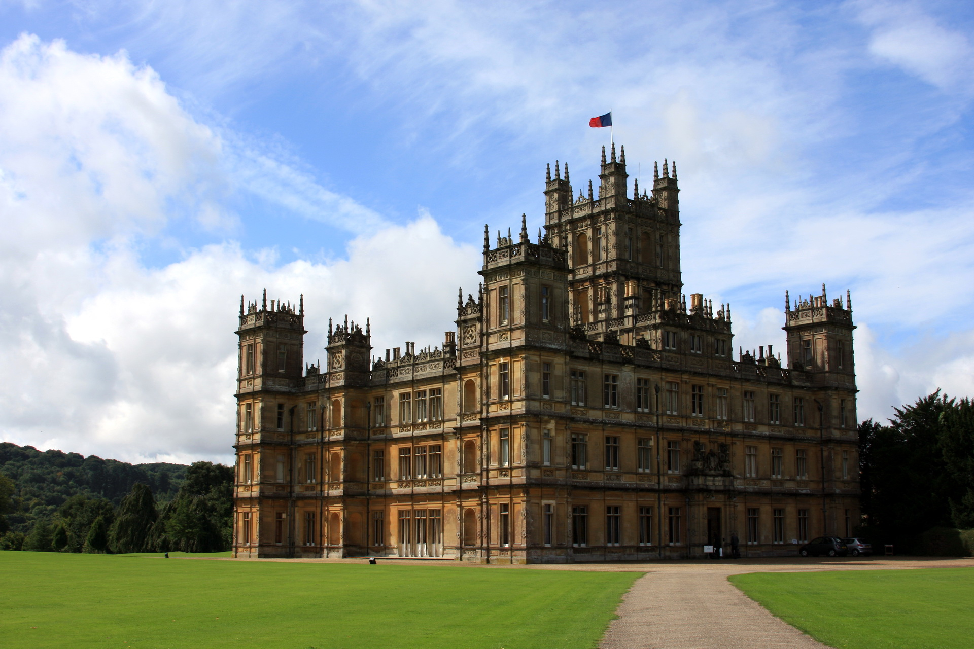 Highclere Castle Computer Wallpapers Desktop Backgrounds 1920x1280 1920x1280