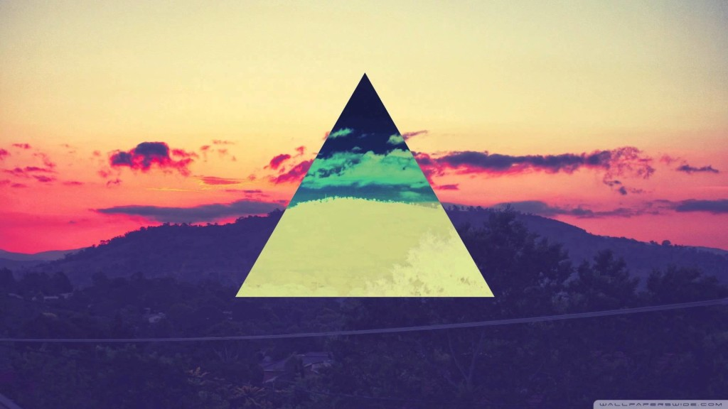 Hipster Triangle Wallpapers 1024x576 Desktop Wallpaper Pc Wallpaper 1024x576