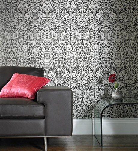 Luxury Wallpaper Designs Wallpaper is Making a Comeback 460x503