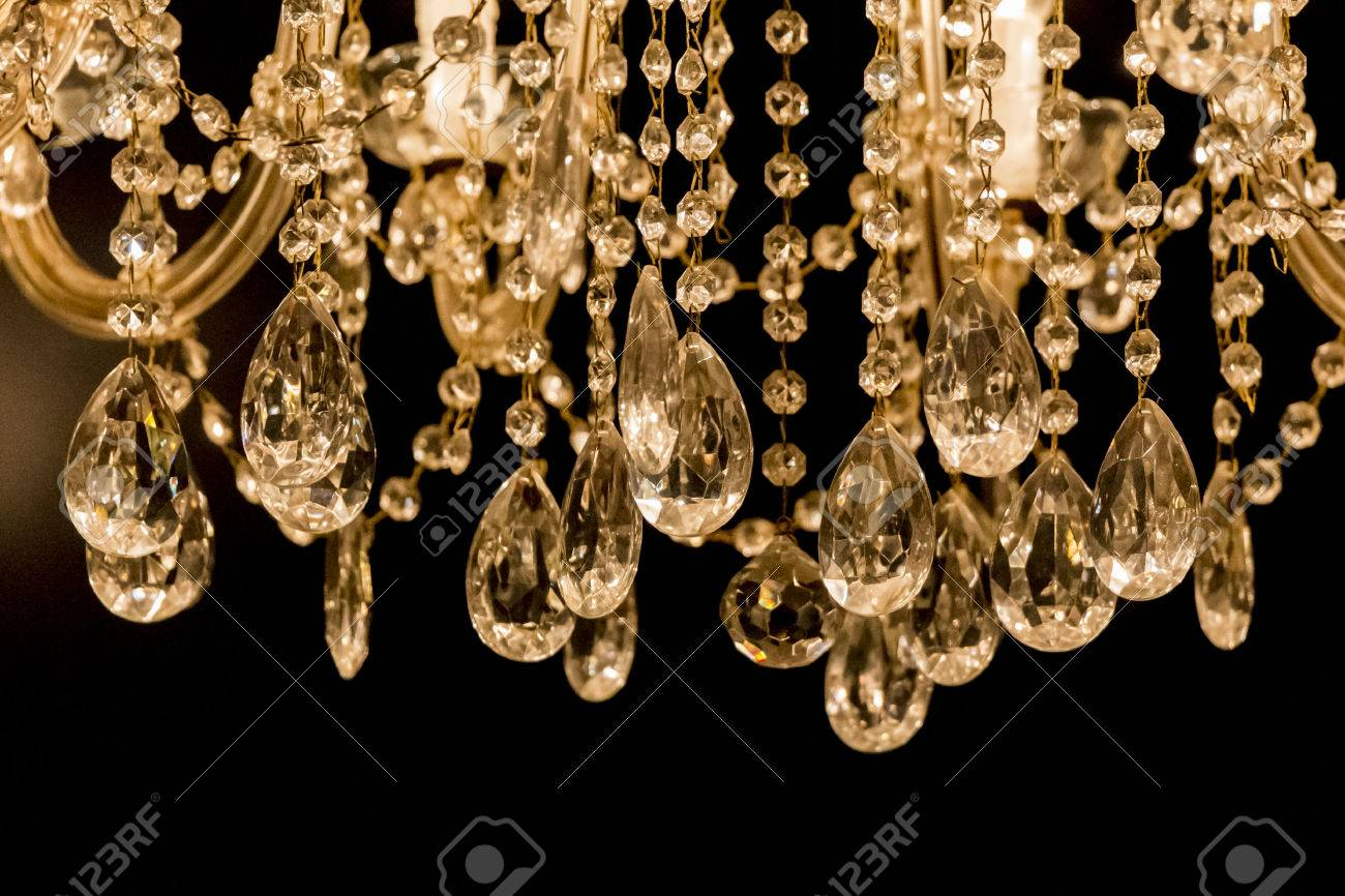 Gallant Chandelier With Light Candles And Dark Background Luxury 1300x866