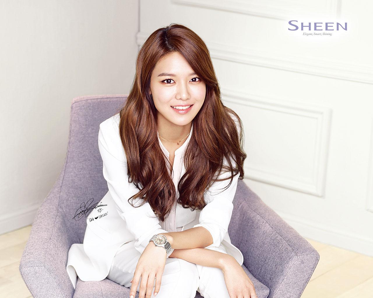 Sooyoung Yoona Tiffany Casio Sheen SNSD Pics 1280x1024