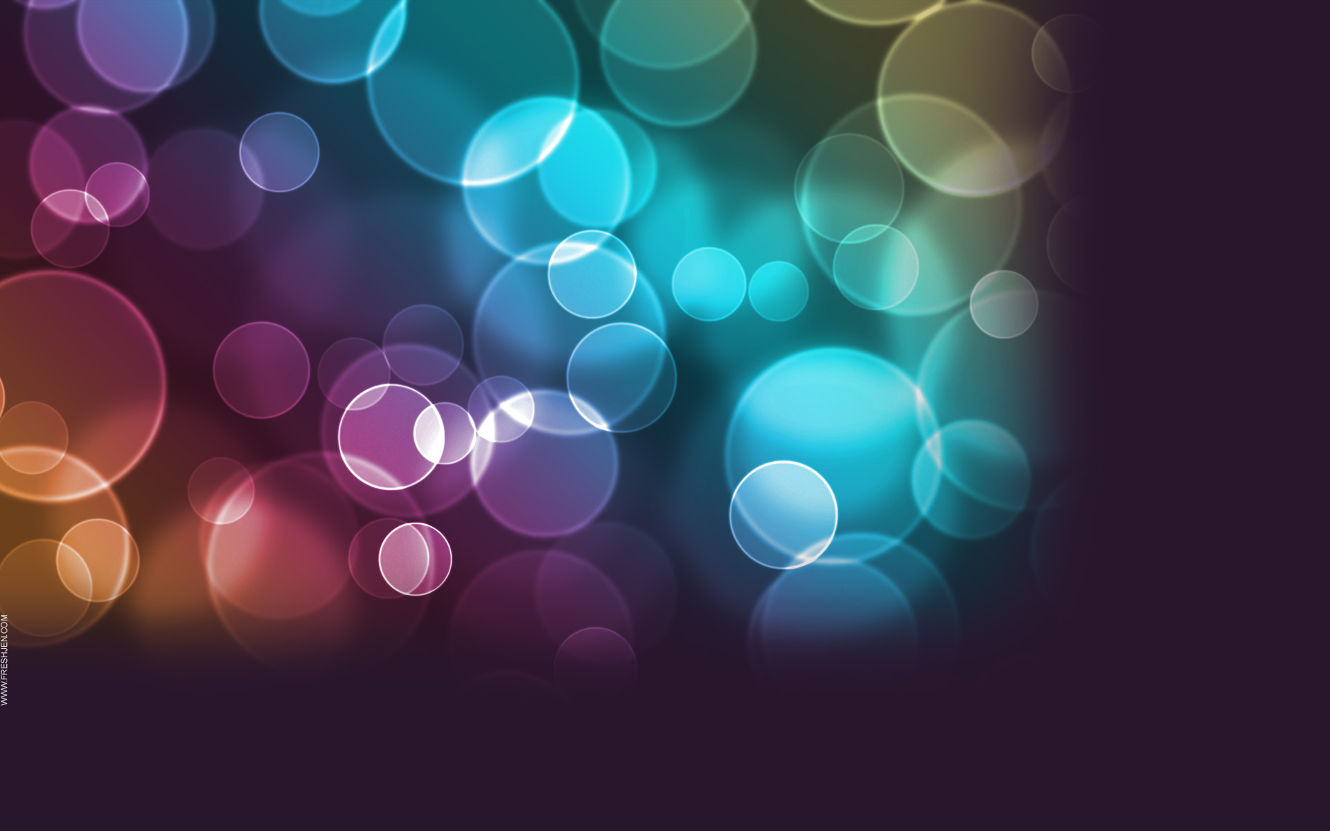 free twitter background colorful circles High Quality Twitter 1920x1200